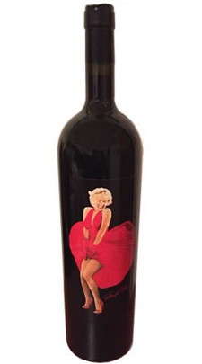 Marilyn Monroe Red Wine
