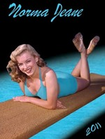 2011 Norma Jeane poster