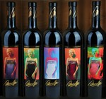1998-2002 Marilyn Cabernet Vertical w framed set Image